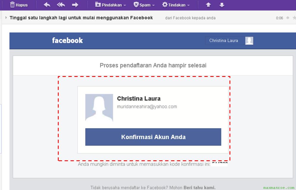 cara membuat fb Bagaimana Cara Membuat Akun Facebook / FB Baru Dengan Mudah