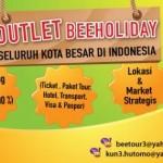 Beeholiday: Peluang Usaha Jasa Penjualan Tiket Online