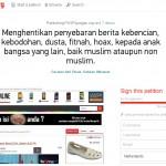 Dukung Petisi Online Ini! Jika Kalian Geram Dengan Maraknya Berita Menyesatkan