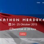 Hackathon Merdeka 2.0, Harapan Baru Untuk Indonesia Tangani Kabut Asap