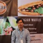 Belgian Waffle ~ Bisnis Kuliner Kue Sepit Khas Belgia yang Tawarkan Kemitraan Menguntungkan