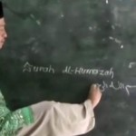 Luar Biasa, Pak Guru Untung Tetap Mengajar Meski Tanpa Lengan
