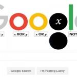 Peringati 200 Tahun George Boole, Google Hadirkan Doodle Unik Notasi Aljabar