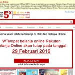 Tak Mampu Bertahan, Rakuten Indonesia Pastikan Gulung Tikar 1 Maret Mendatang