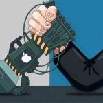 """Berhasil Bobol iPhone, FBI Menang """"TKO"""" Lawan Apple"""