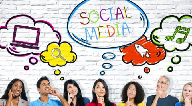 blogging media sosial