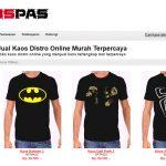 Kaospas.com ~ Pilihan Belanja Online Toko Kaos Distro Murah Dan Terpercaya