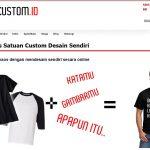 KaosCustom.id ~ Tempatnya Bikin Kaos Original Anti Kembaran!