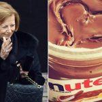 Maria Franca ~ Jadi Wanita Terkaya No 4 Di Dunia Berkat Coklat Nutella